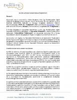 MZH Jogi Nyilatkozat Adatvédelmi Tájékoztató 2018.05.18