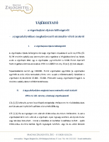 Tájékoztató a végrehajtási eljárás költségeiről 2014
