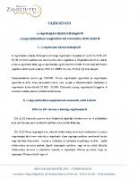 Tájékoztató a végrehajtási eljárás költségeiről